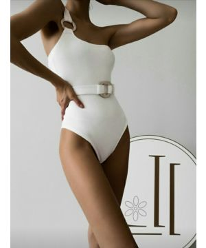 White Waist Belt Body