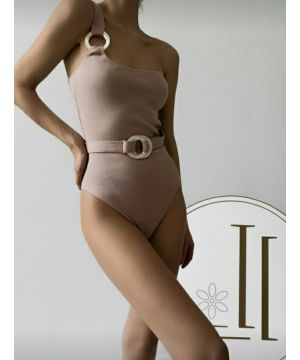 Beige Waist Belt Body