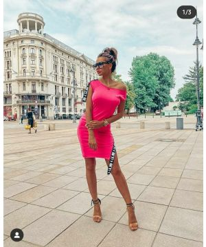 Pink LA..MU Sideband Dress