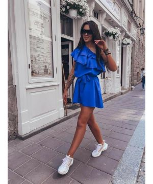 King Blue Big City Dress