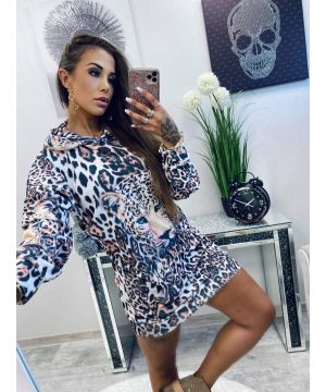 LB Leopard Owner Dress