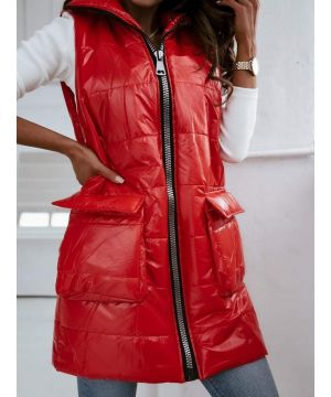 """RED, street style"""" vest"""