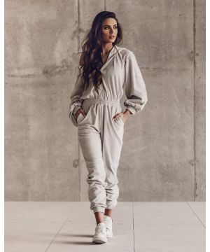 O la Voga Grey New Look Jumpsuit