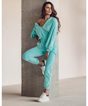 O la Voga Turqouise New Look Jumpsuit