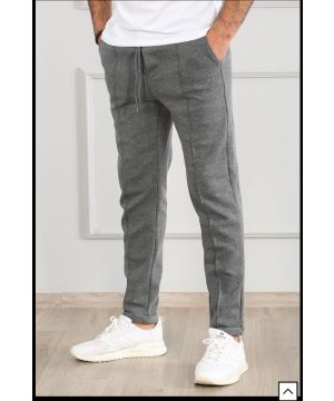 OPN Grey Front Seam Pants