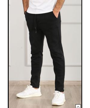 OPN Black Front Seam Pants