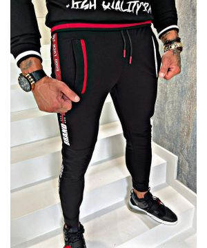 Exam Joggers Red